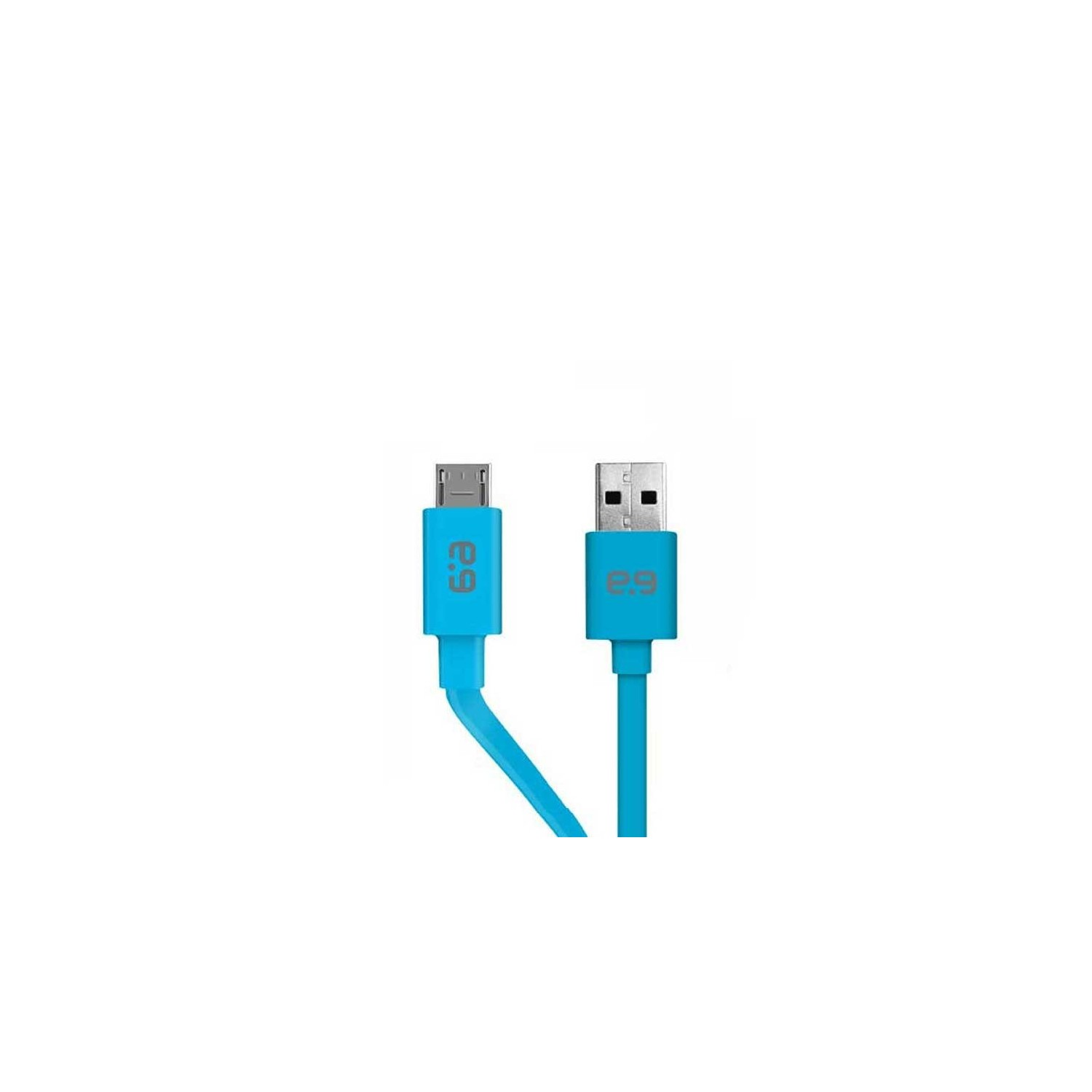 SYNC CABLE - Puregear Micro USB Flat Universal Cable BLUE