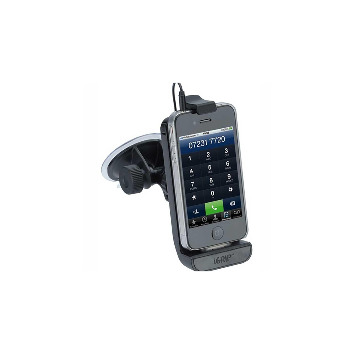 Holder & Charge Grip for iPhone 3 4 4S and iPod