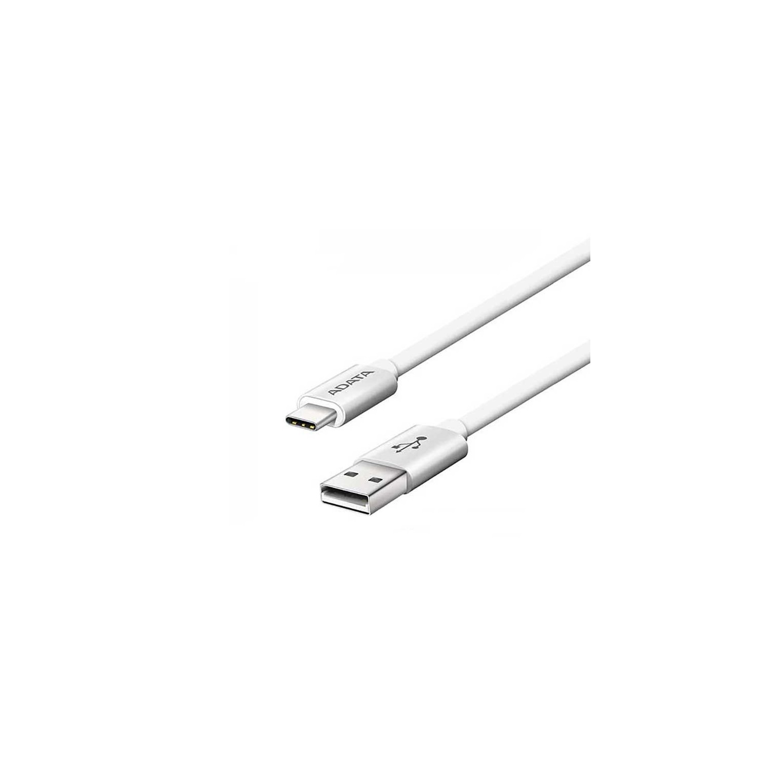 Cable Datos ADATA Tipo USB-A a USB-C 3.1- Plata - 1m Universal