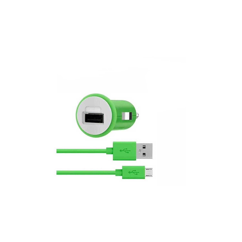 Cargador Plug Micro USB BELKIN Universal 2.1A Verde