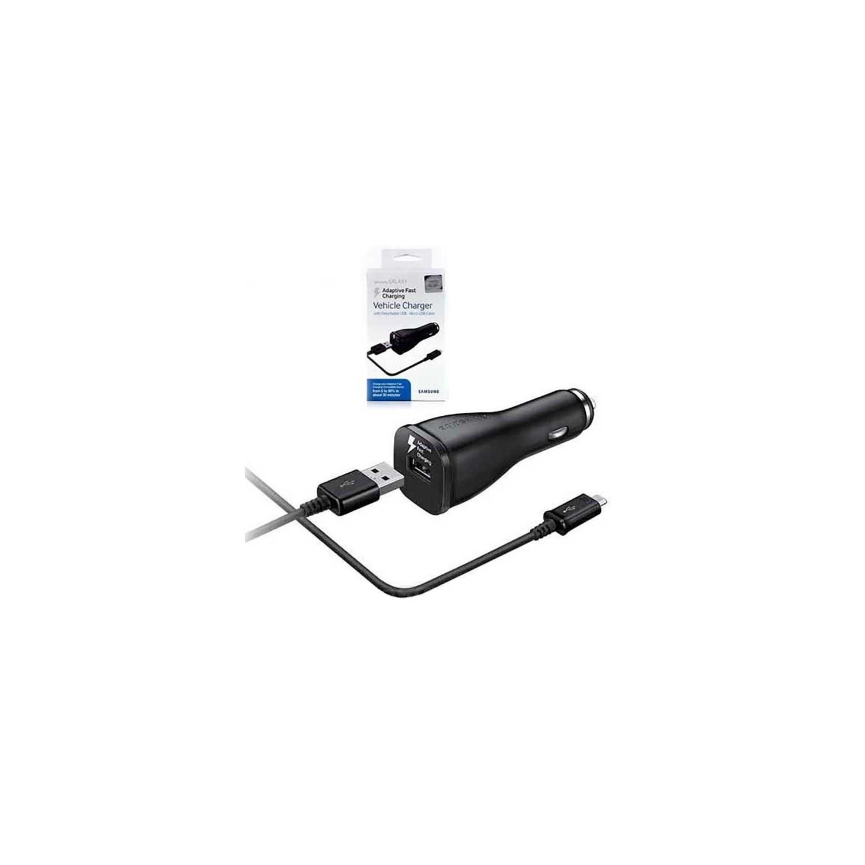Cargador de Auto SAMSUNG AFC Micro USB 2A Universal Plug in BLISTER