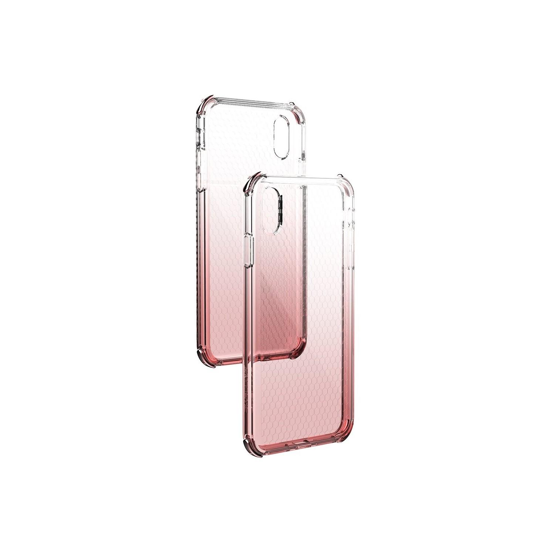 . Funda BALLISTIC Jewel Spark para iPhone Xs MAX - Tra Rosa protector uso rudo