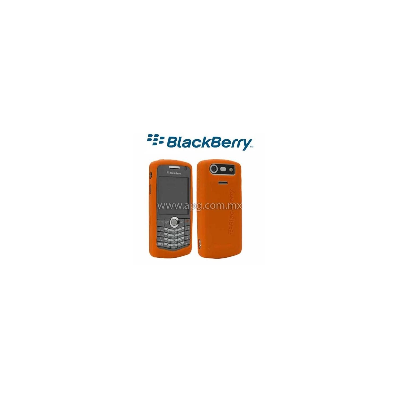 Funda Protector Skin Silicon 8110 8120 8130 Rojo Naranja
