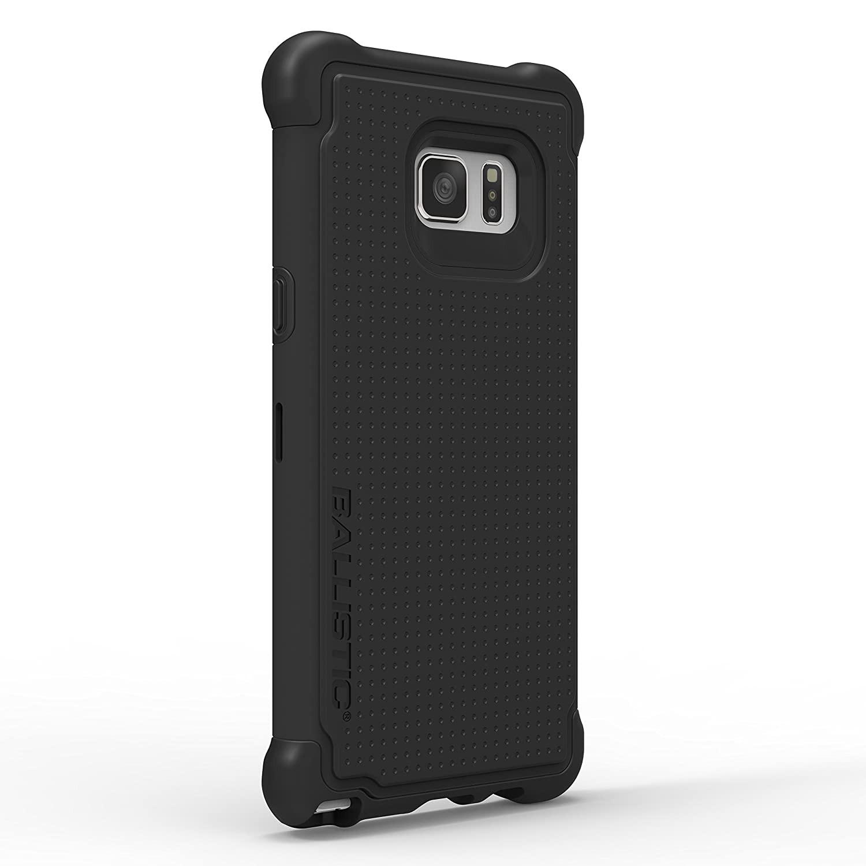 . Funda Ballistic TJ Tough Jacket para Samsung Note 7 Negro