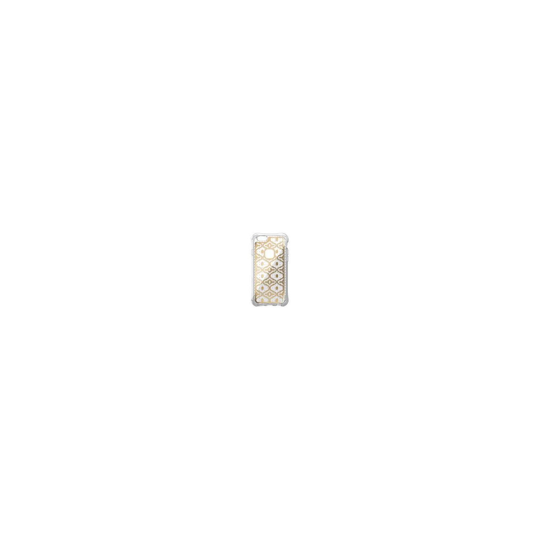 . Funda BALLISTIC Jewel para iPhone 6s Oro2 Transparente