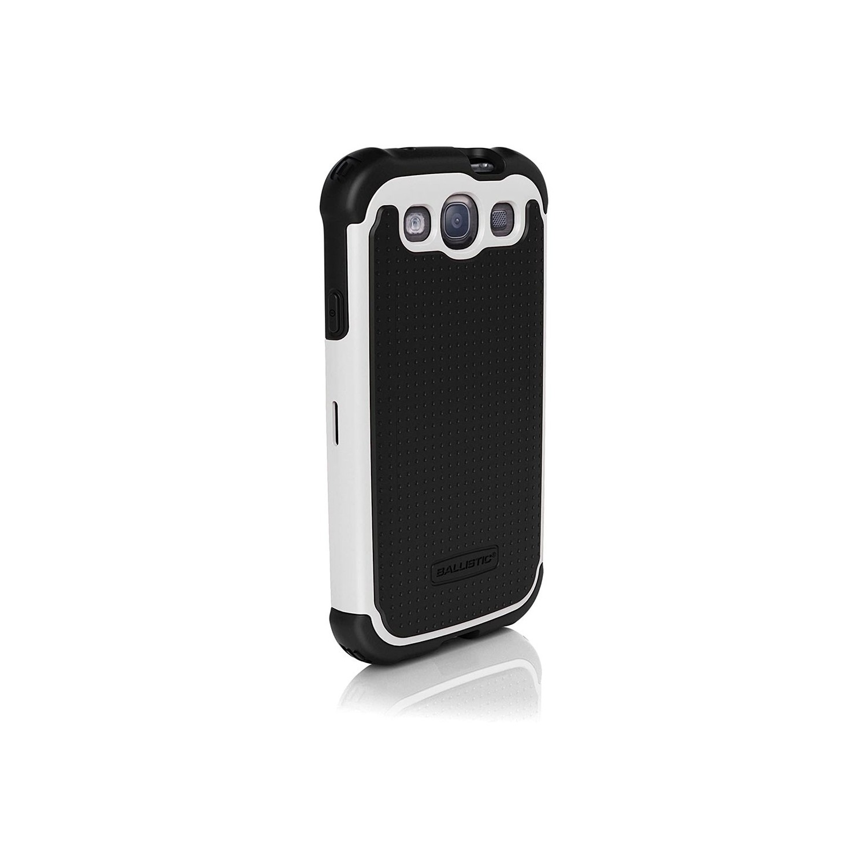 . Funda Ballistic SG para Samsung Galaxy S3 i9300 Blanco Negro