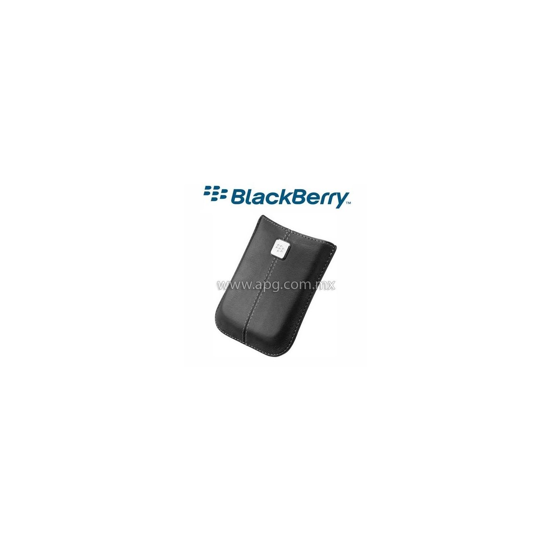 Funda Blackberry Pouch Original color Negro