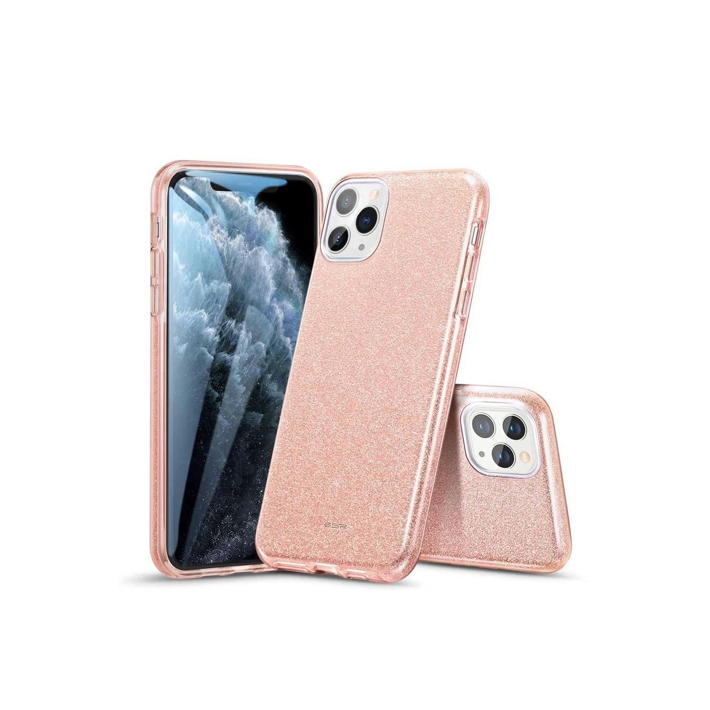. Funda ESR Glitter para iPhone 11 PRO MAX Brillos Coral