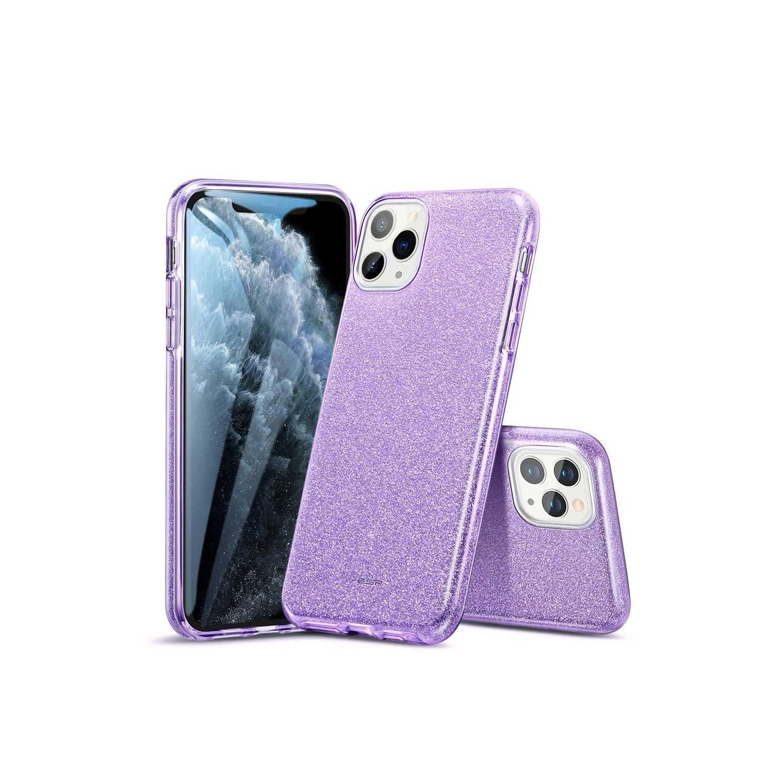 . Funda ESR Glitter para iPhone 11 PRO MAX Lila Brillos