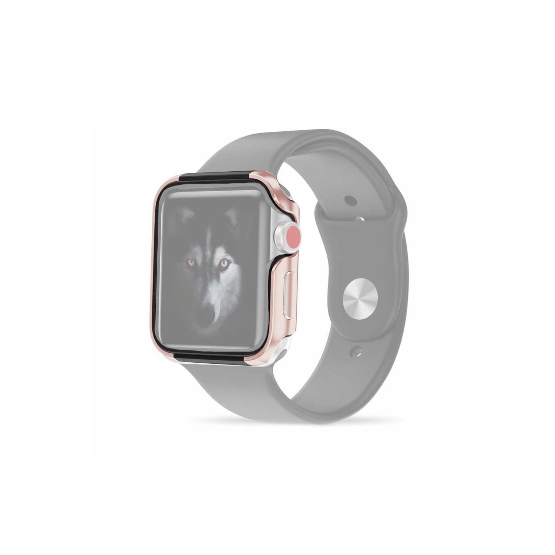 Case - ZIZO for Apple watch 42mm -  Rose Gold Black
