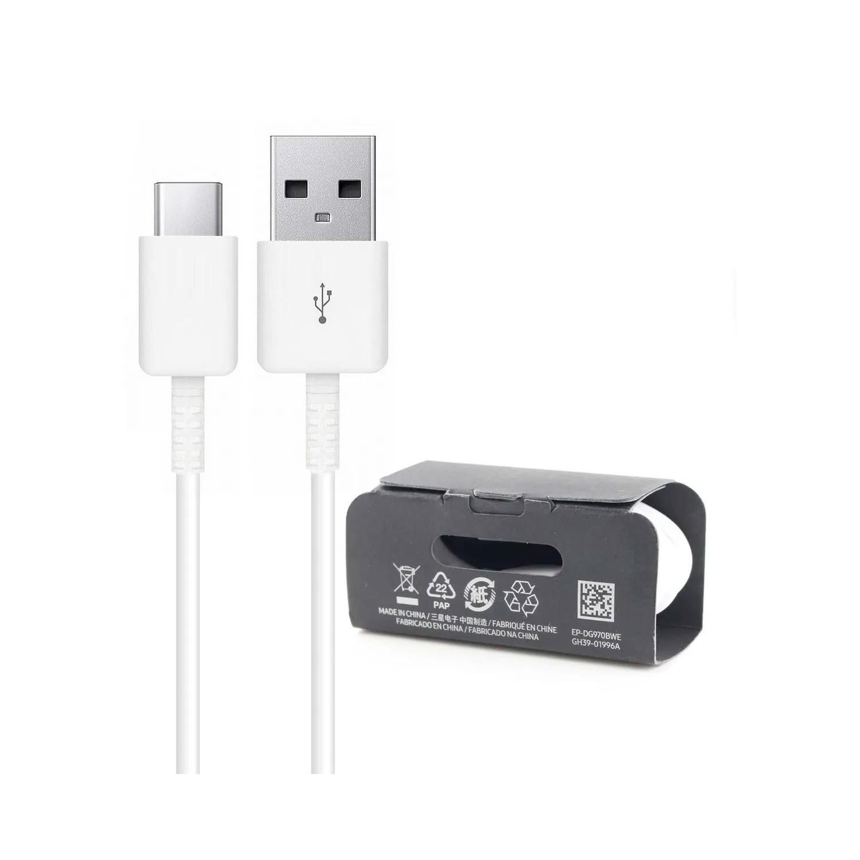Cable Datos SAMSUNG USB-A a USB-C - Blanco - 1m Universal