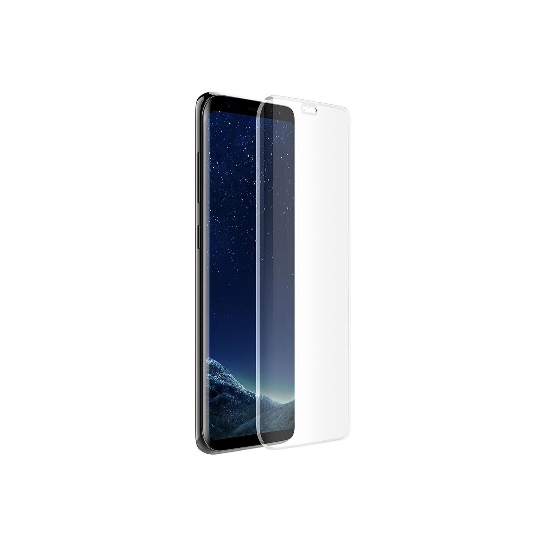 Mica Vidrio OTTERBOX Samsung S8 Alpha glass Protectora de pantalla transparente borde negro