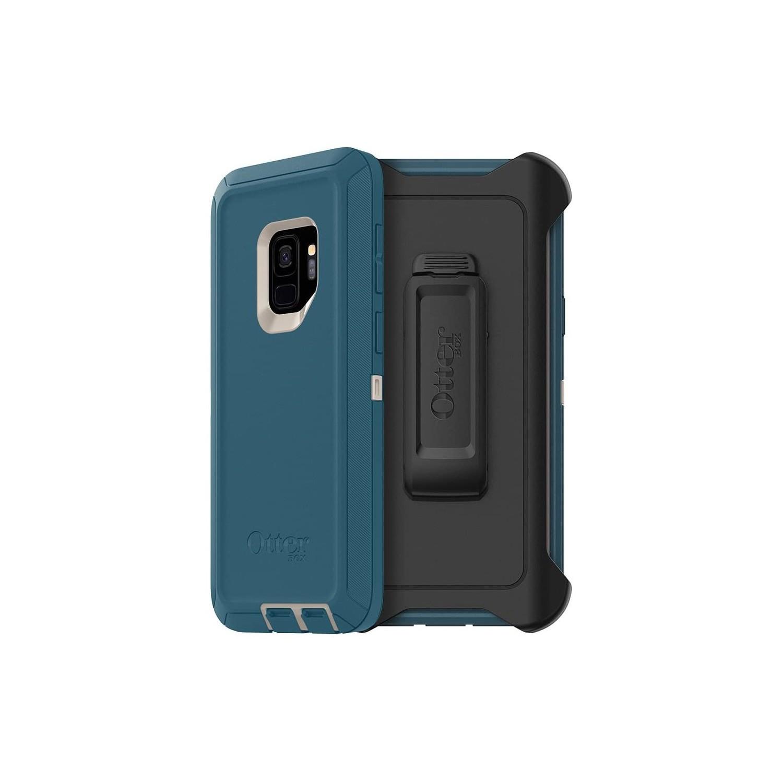 . Funda OTTERBOX Defender Samsung S9 Big Sur Uso Rudo con Clip giratorio