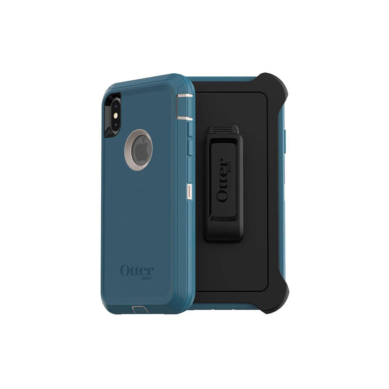 . Funda OTTERBOX Defender para iPhone Xs MAX - Azul