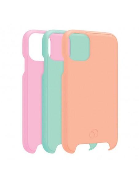 Repuesto NIMBUS9 cirrus2 para funda iPhone 11 (NO INCLUYE FUNDA) y XR kit 3 piezas rosa nar pastel