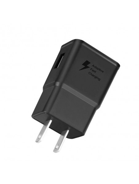 Cargador AC SAMSUNG 2Amp AFC Universal (SIN CABLE) negro (sin empaque)