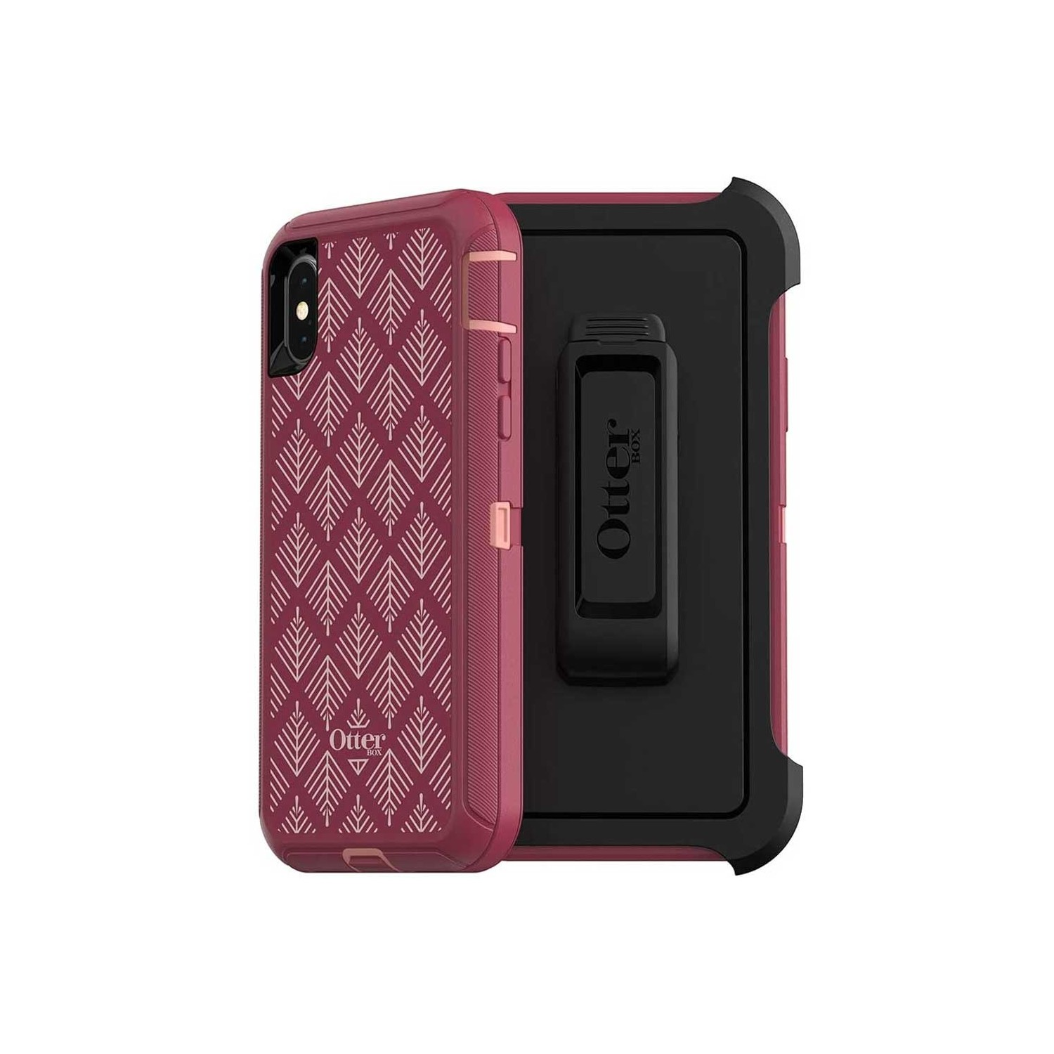 Case - Otterbox Defender for iPhone Xs Happa