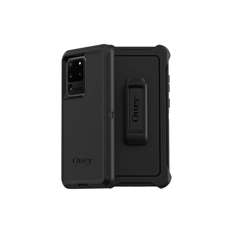 . Funda OTTERBOX Defender para Samsung S20 ULTRA - Negra Clip uso rudo