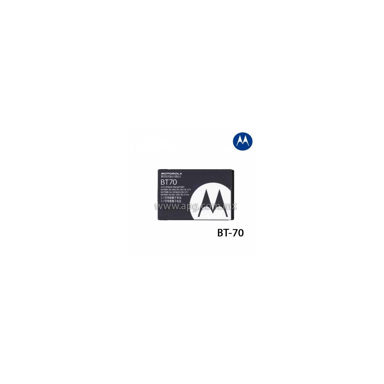 Bateria de Litio Motorola BT-70
