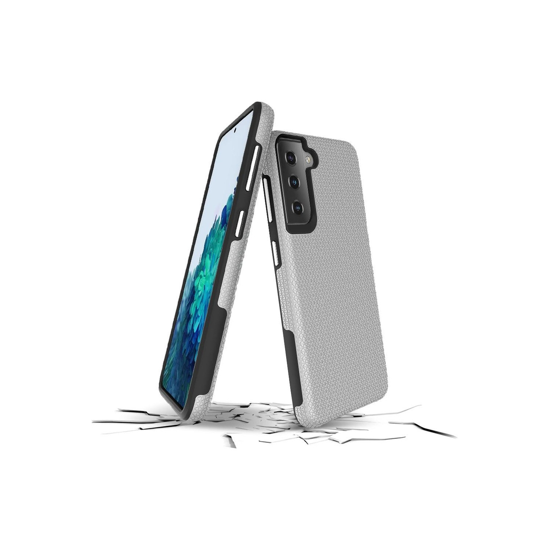 . Funda PRODIGEE Rockee para Samsung S21 ULTRA Plata