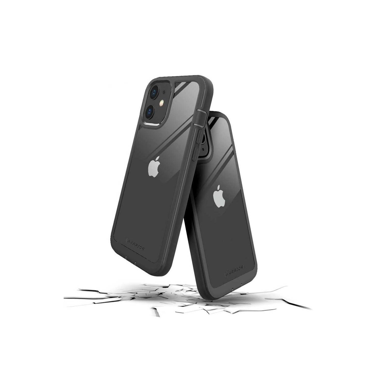 . Funda PRODIGEE Warrior para iPhone 12 MINI Transp Negra