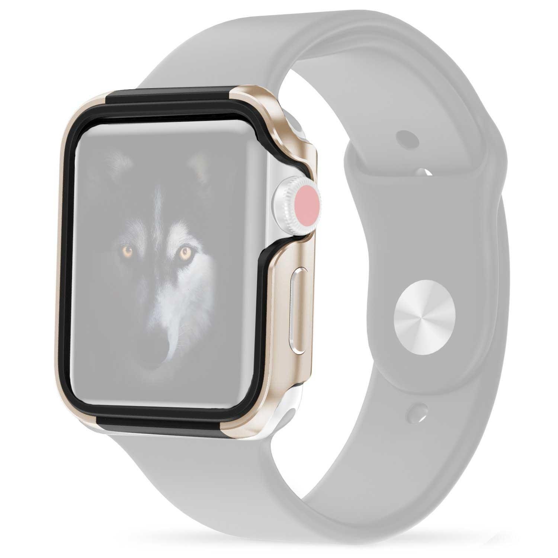 Case - ZIZO for Apple watch 42mm -  Gold Black