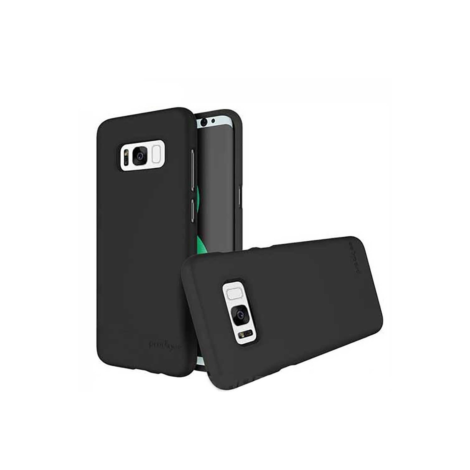 Case -  Prodigee Accent Fusion for Samsung S8 - Matte Black
