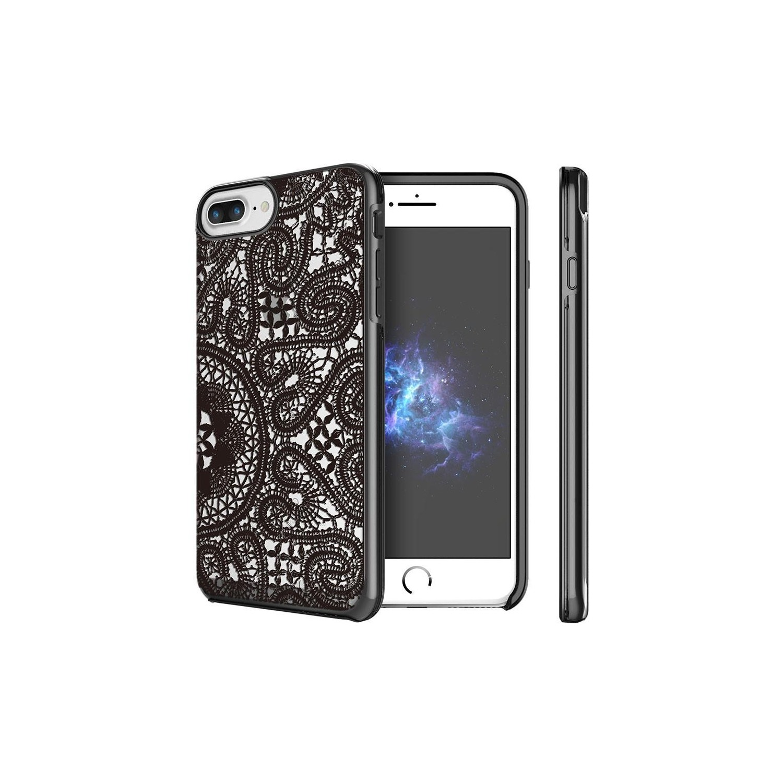 . Funda PRODIGEE Show Lace para iPhone 8 PLUS y 7 PLUS Negra