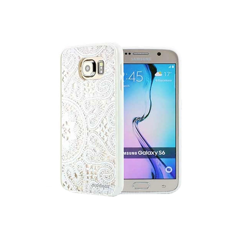 . Funda PRODIGEE Scene Lace para Samsung S6 Blanca