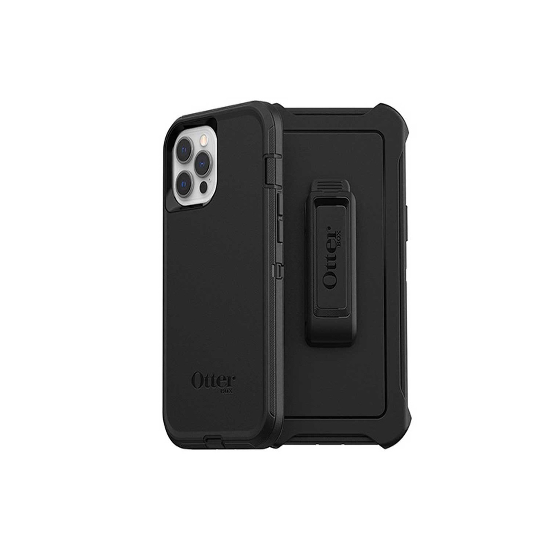 . Funda OTTERBOX Defender para iPhone 12 y 12 PRO - Negro