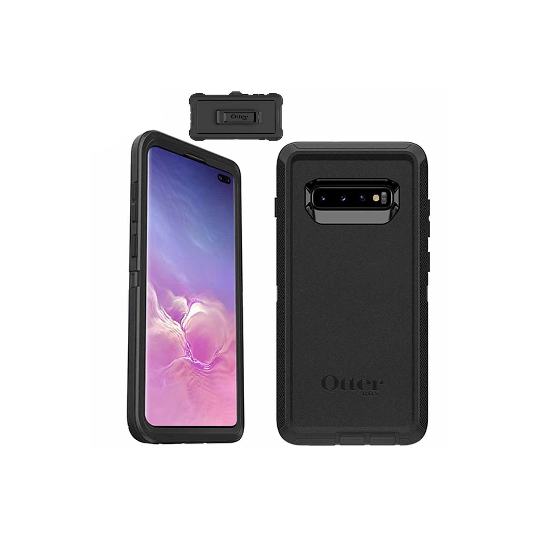 Case - OTTERBOX Defender for Samsung S10 - Black