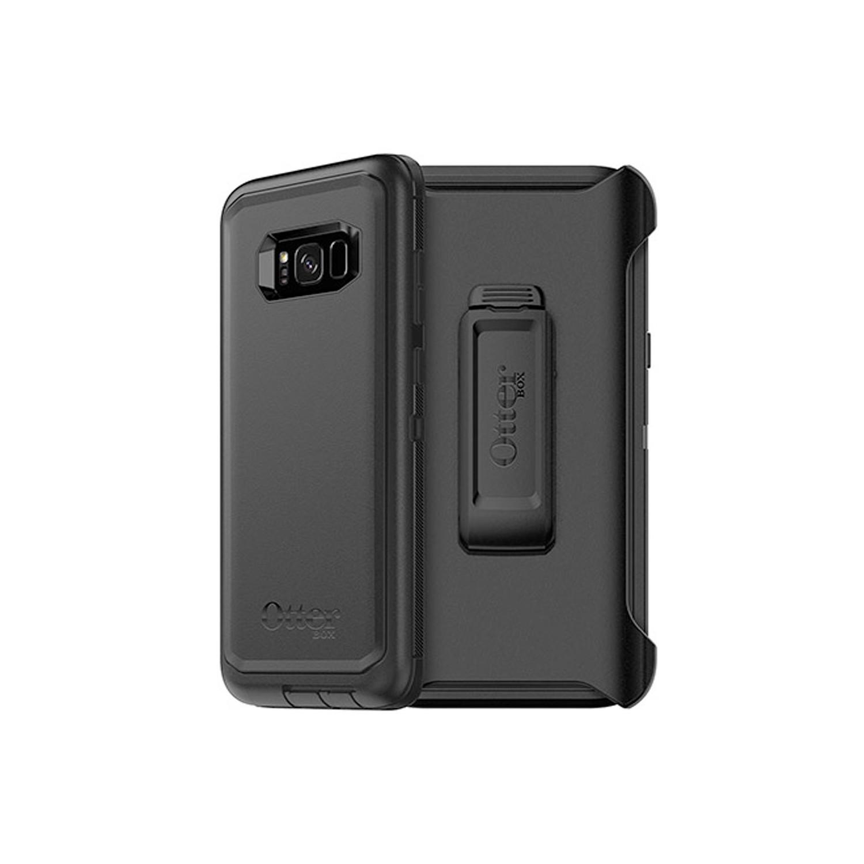 . Funda OTTERBOX Defender para Samsung S8 PLUS NEGRA Uso Rudo con Clip giratorio