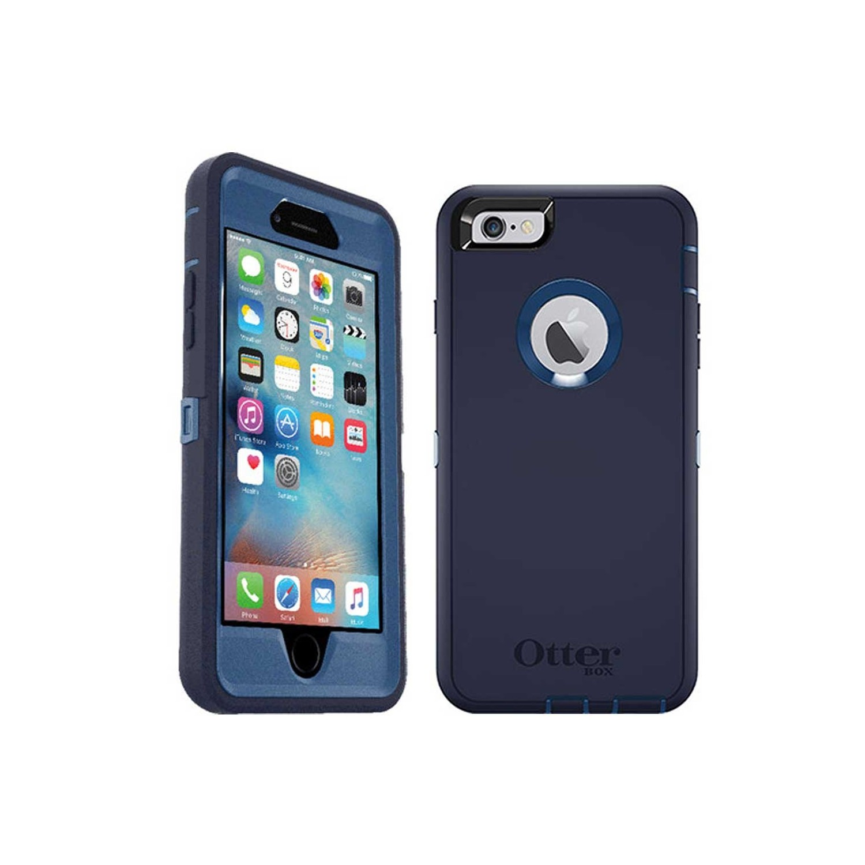 . Funda OTTERBOX Defender para iPhone 6 PLUS Azul Uso Rudo con Clip giratorio