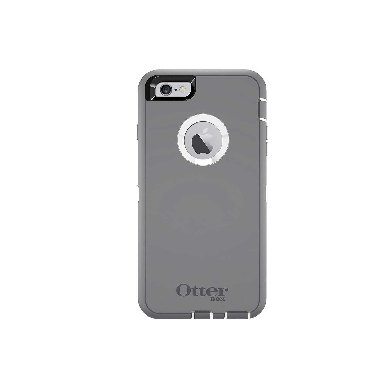 . Funda OTTERBOX Defender para iPhone 6 PLUS Gris Blanco Protector Uso Rudo con Clip giratorio