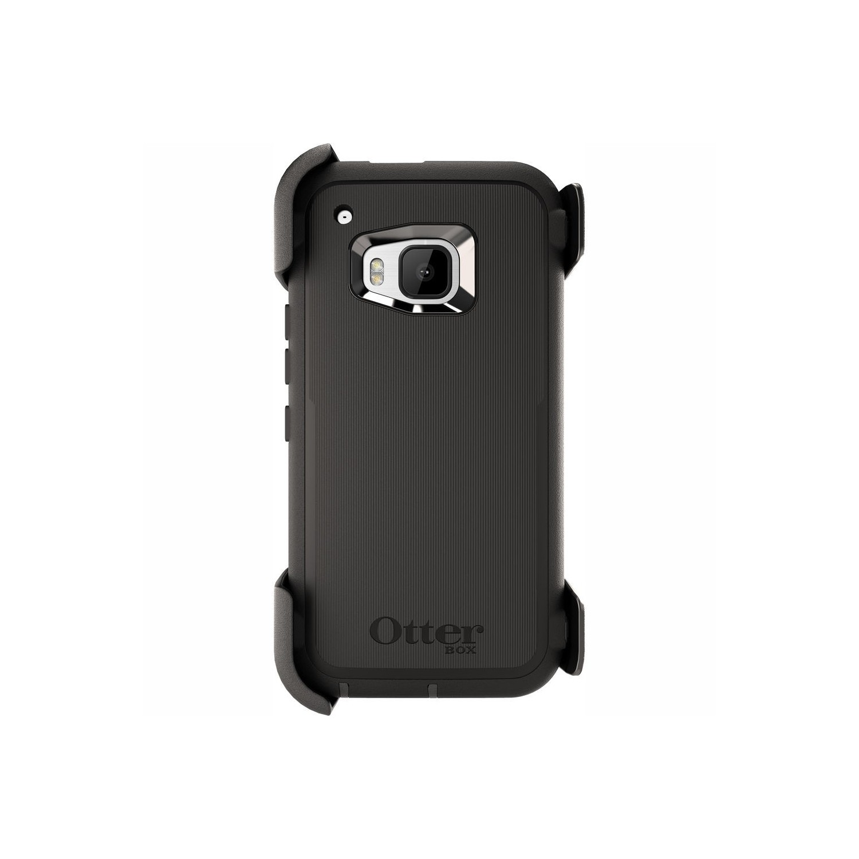 . Funda OTTERBOX Defender para HTC One M9 Negra Clip Giratorio estuche uso rudo