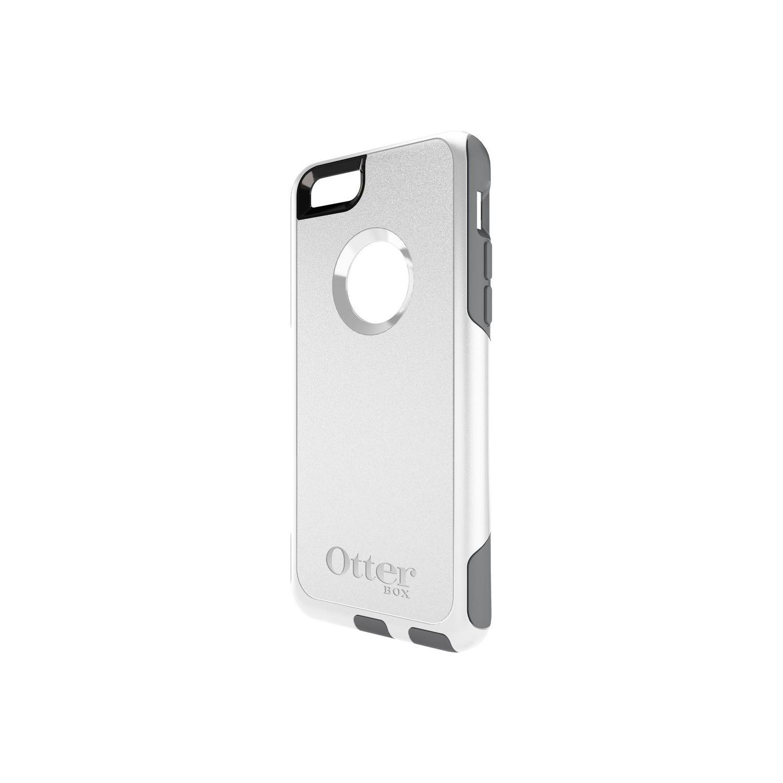 . Funda OTTERBOX Commuter para iPhone 6 PLUS Blanco Gris