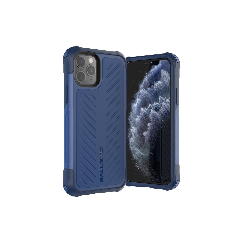 . Funda BALLISTIC TJ para iPhone 11 PRO Azul protector uso rudo