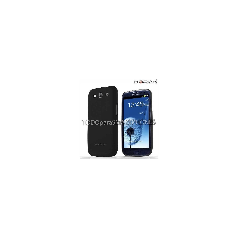 Funda Kodiak Samsung S3 Skinny Negro Brillante