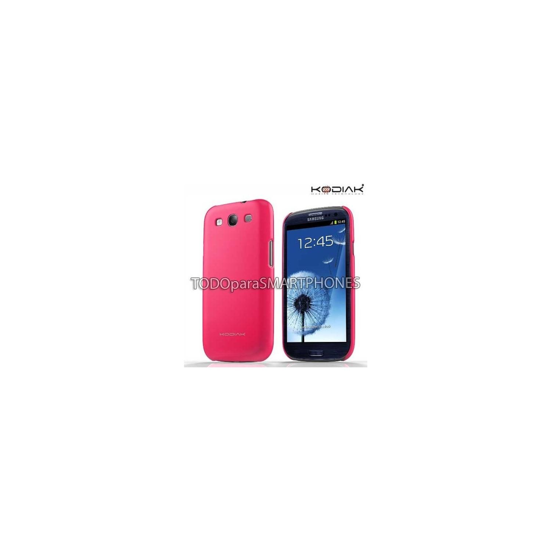 Funda Kodiak Samsung S3 Skinny Rosa Brillante