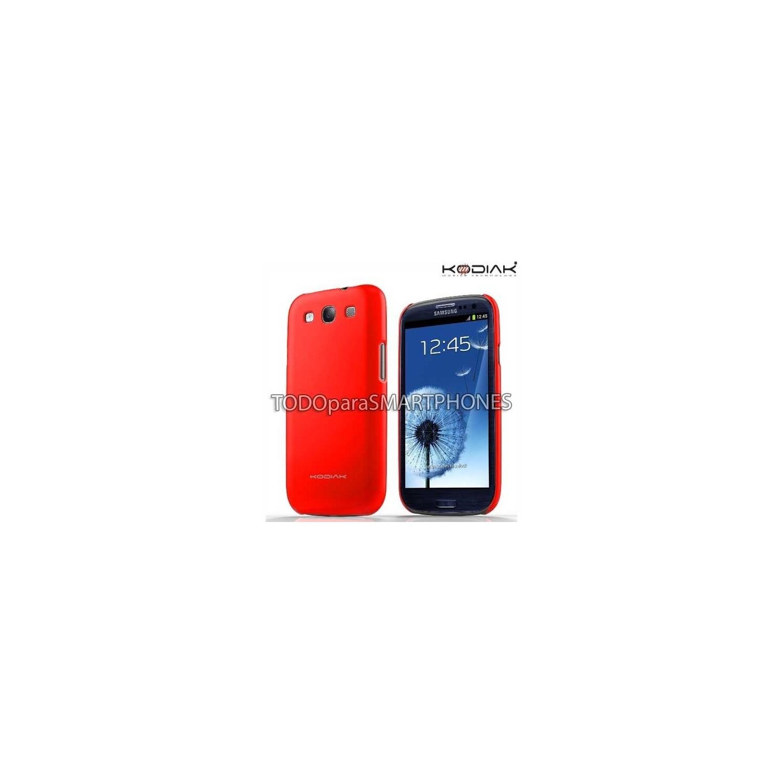 . Funda Kodiak Samsung S3 Skinny Rojo Brillante