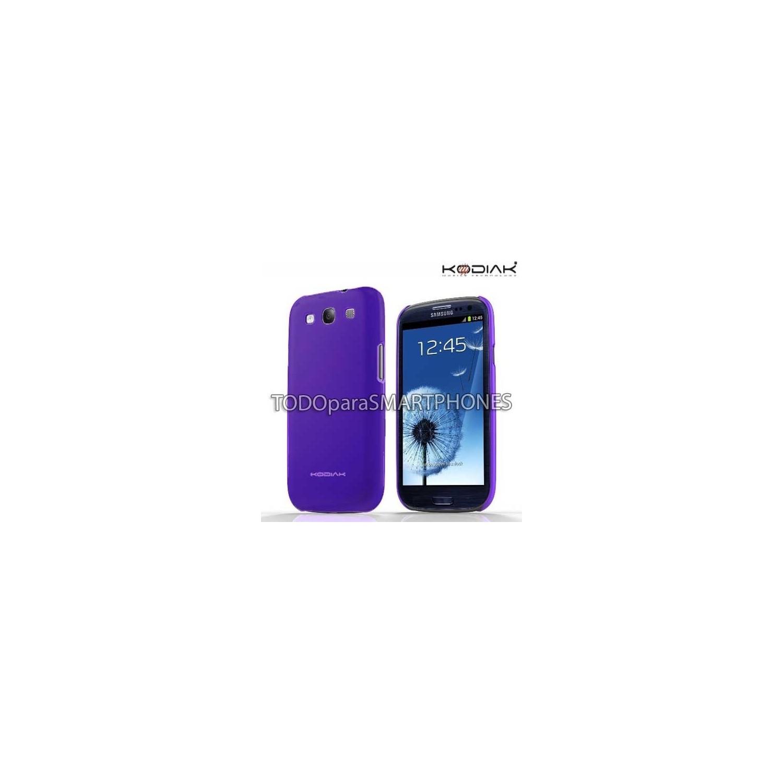 Funda Kodiak Samsung S3 Skinny Violeta Brillante