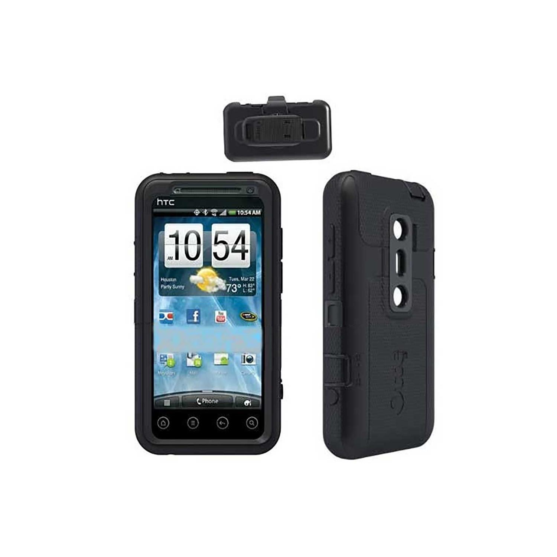 Case - Otterbox Defender HTC EVO 3D Black