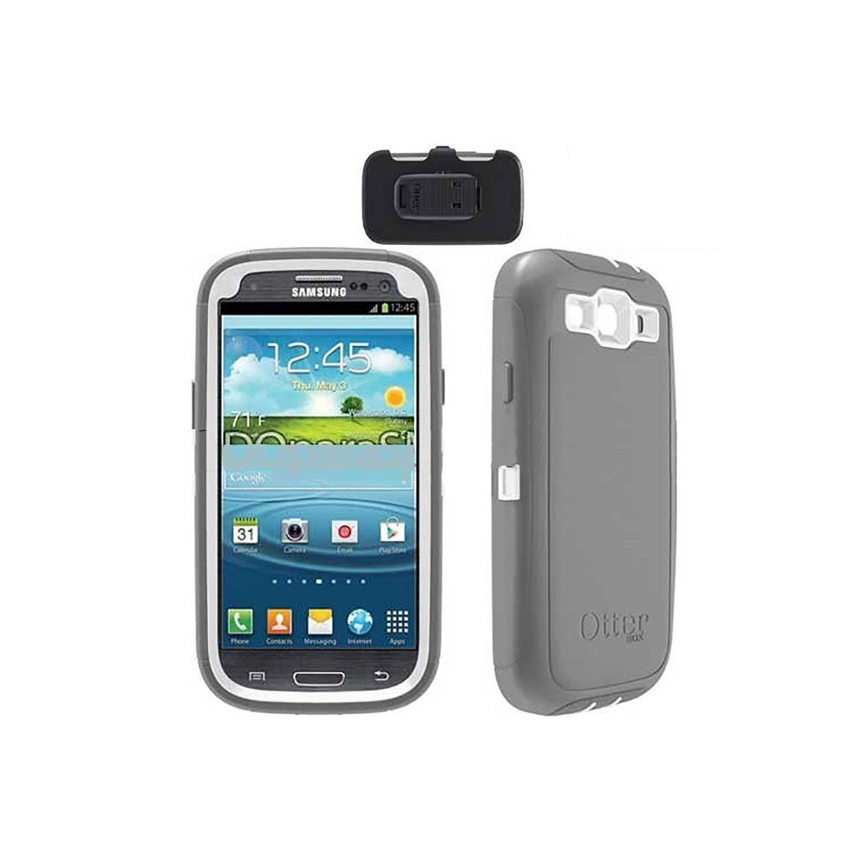 . Funda OTTERBOX Defender para Samsung S3 Gris Blanco