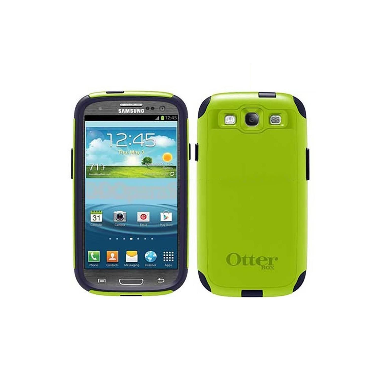 . Funda OTTERBOX Commuter para Samsung S3 Protector Verde Azul