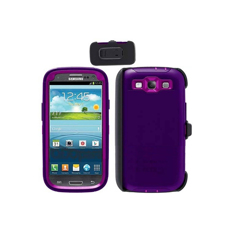Case - Otterbox Defender Samsung S3 Violet