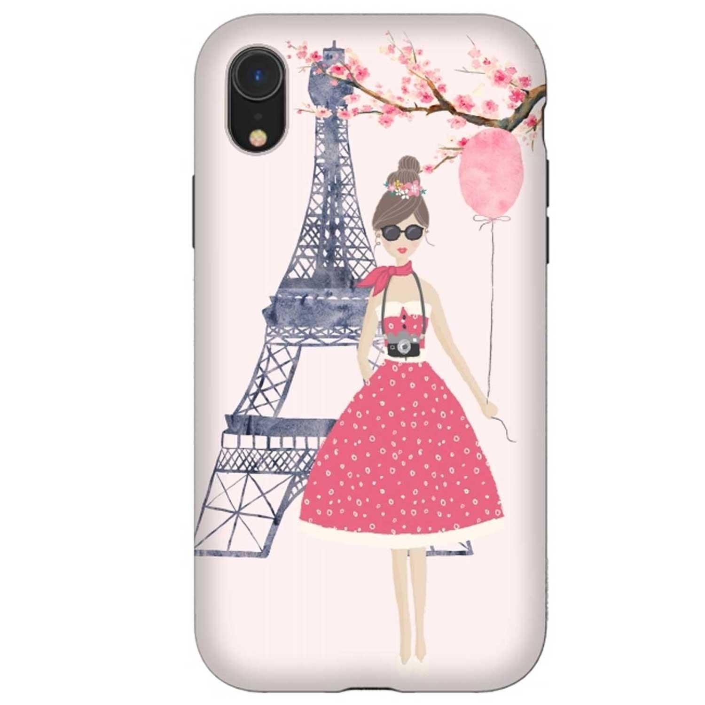 . Funda ARTSCASE StrongFit para iPhoneXR Spring in Paris