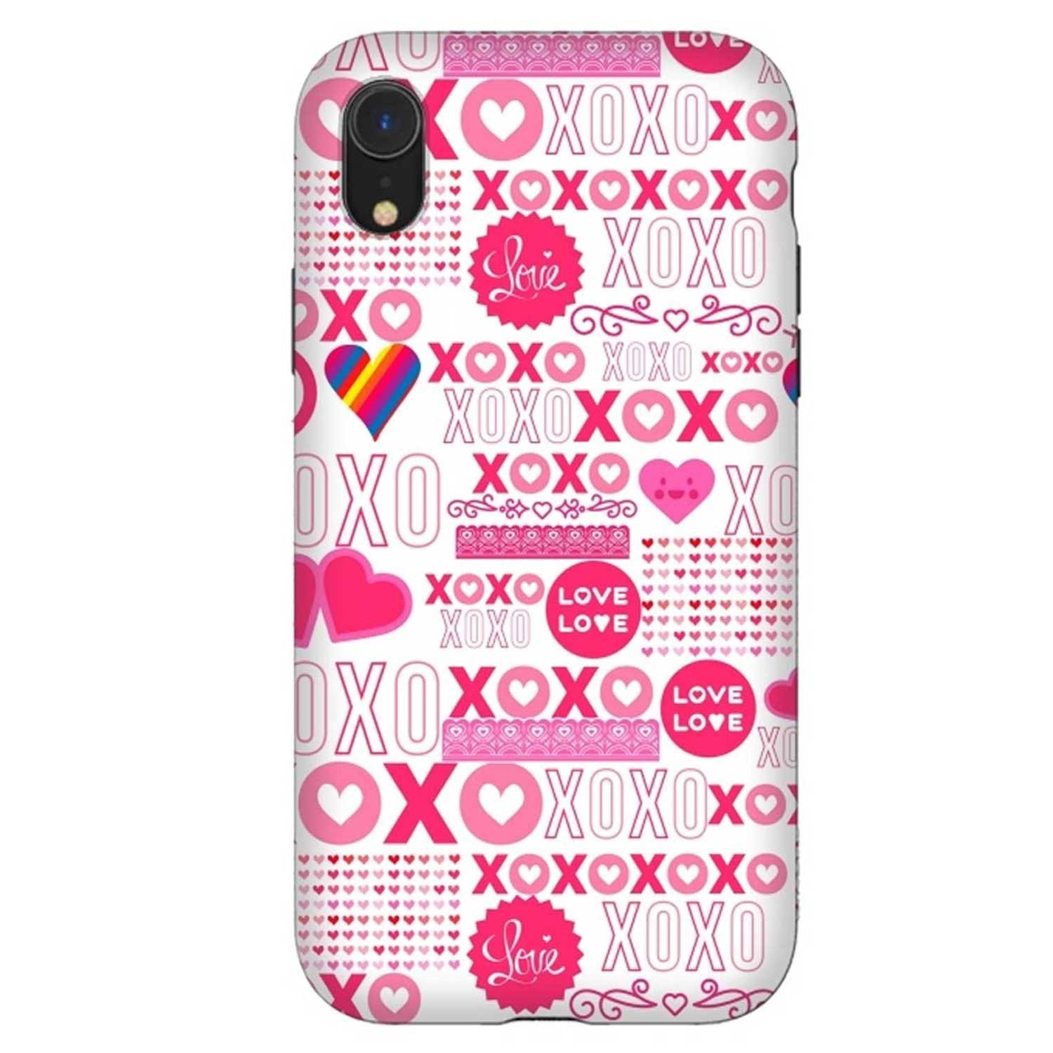 Case -  ArtsCase StrongFit for iPhone  XR - XOXO