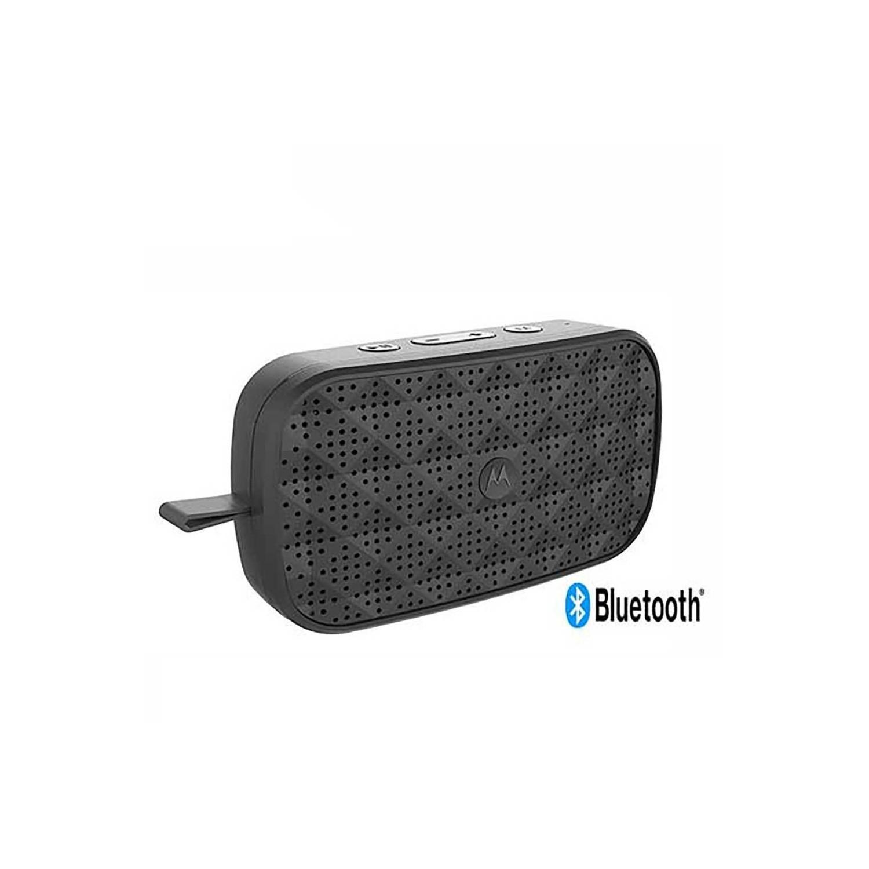 Bocina Motorola Sonic Play 100 Bluetooth Universales Negra