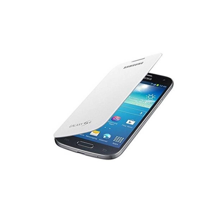 . Funda SAMSUNG para Galaxy S4 Flip Cover Blanca OEM