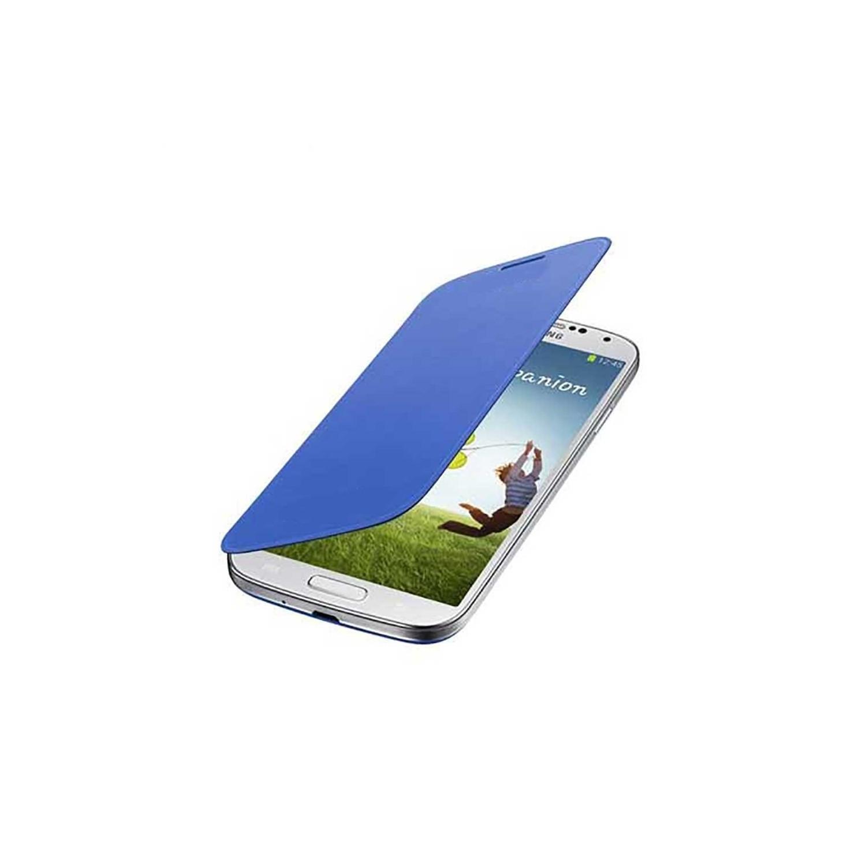 . Funda SAMSUNG para Galaxy S4 Flip Cover Azul OEM